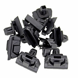 10Pcs Moulding Clip Retainer Nylon Bumper Cover Bracket for Toyota 52197-52010