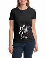 Best Gift Ever T-shirt Pregnant Women Baby Loading Tee Christmas Present Shirt