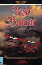 Red Baron 1 MAC pilot cockpit bi-wing World War I combat air plane game! BIG BOX