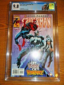 Peter Parker Spider-man #10 Venom Cover Key CGC 9.8 NM/M Label 1st Print Marvel