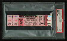 PSA 9 QUEBEC NORDIQUES at the EDMONTON OILERS 1976 Unused WHA Ticket