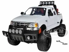 2001 FORD F-150 XLT FLARESIDE PICKUP TRUCK OFF ROAD WHITE 1/24 MOTORMAX 79132