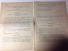 Regi Decreti 28/02  3/03 1892 Notaro Volturino;Cessazione distretti militari-566