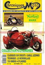 CHRONIQUES MOTO 32 NORTON MANX 500 NIMBUS 750 /4 MOTOBI 250 Sport Spécial
