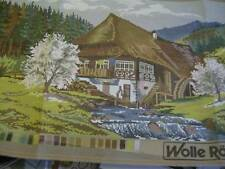 Rodel Gobelin Schwarzwaldhaus (Black Forest House) Needlepoint Kit 40x80 cm/ 15.