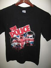 The Police Sting British Rock & Roll 2007 '08 World Tour Concert Retro T Shirt S