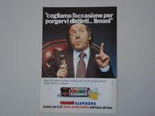 advertising Pubblicità 1977 CARAMELLE ALEMAGNA CHARMS