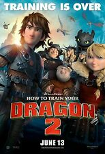 How To Train Your Dragon 2 (2014) Movie Poster (24x36) - Jay Baruchel NEW