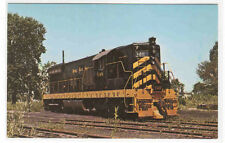 Nickel Plate Railroad Train 348 Diesel Norwalk Ohio postcard