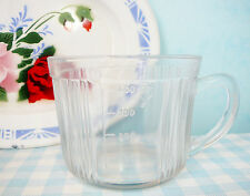 Oude glazen maatbeker mixer vintage old glass measuring cup fifties 50's kitchen