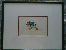 1941 Walt Disney Hand Painted Production Animation Cel Donald Duck golf clubs