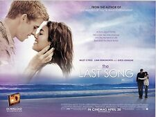 The Last Song movie poster 12 x 16 inches - Miley Cyrus poster, Liam Hemsworth