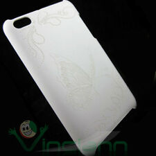 Custodia BACK cover rigida FLY BIANCA butterfly per Apple iPod Touch 4 4g