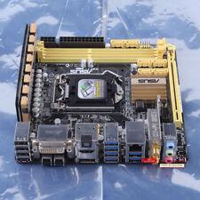 100% tested ASUS Z87I-PRO 1150 DDR3 Intel Z87 Motherboard DVI HDMI USB3.0 mITX