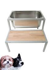 Hundebadewanne Hundewanne Hunde Wasserbecken Hundedusche Edelstahl Hundebad TOP!