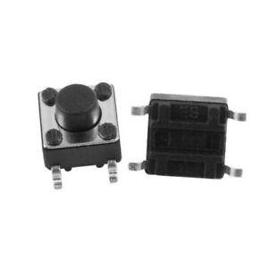 Micro Switch Commutateur à bouton poussoir 4,5x 4,5 x 3,8 mm smd Lot de 4