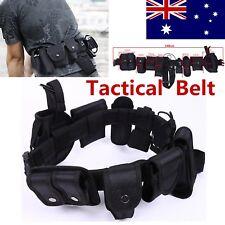 Durable Police Security Tactical Belt Combat Gear Utility Nylon Belt Heavy Duty
