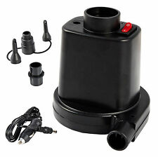 12v Mini Electric Air Pump Airbed Car Boat Toy Air Bed Mattress Inflator