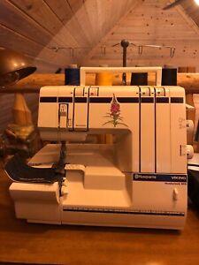 Husqvarna Viking Huskylock 905 Serger Sewing Machine