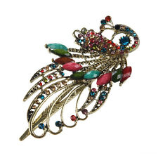 Lovely Vintage Crystal Peacock Hair Clips Hairpins C- for hair clip Beauty Tools