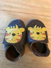 LION cat leather BOBUX baby shoes infant soft boots cloths gift udea brown anima