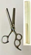 """Professional Barber Razor Thinning Shears 6.5"""" With Comb"""