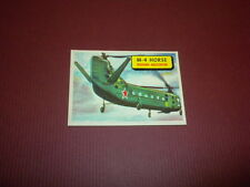 PLANES trading card #35 TOPPS 1957 Army Navy Marines Air Force WORLD AIRPLANES