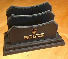 Rolex VERDE catalogo/Magazine Holder Display Stand VINTAGE SUBMARINER DAYTONA