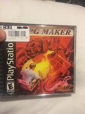 RPG Maker (Sony PlayStation 1, 2000) Complete