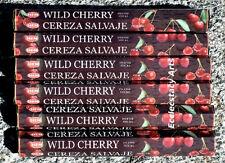 Hem Wild Cherry Incense 20-40-60-80-100-120 Sticks You Pick Amount {:-)