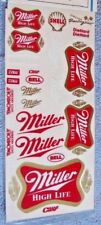 Miller High Life Stickers By Checkered Flag Racing great for model race cars New