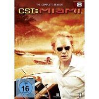 CSI: MIAMI - THE COMPLETE SEASON 8 6 DVD NEU