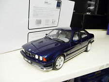 1:18 Otto Mobile BMW M5 E34 blue metallic Limited Edition SHIPPING FREE