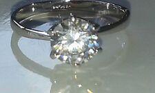Genuine Lab Diamond Engagement Dress Ring 1.49ct. Size M Fast / Free UK P&P