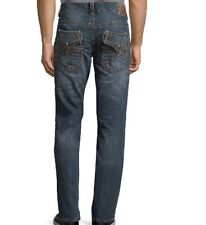 AFFLICTION ACE Jeans for Men Fleur Arvada Whiskered Faded Distressed 32 X 34