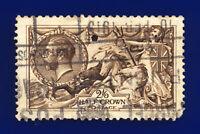 1913 SG400 2s6d Sepia-Brown Waterlow N63(3) Paignton 10 FEB 1915 Cat £150 chdj