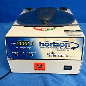 Drucker Horizon 653ES 12X Horizontal Centrifuge