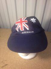 Australian Flag Baseball Ball Hat Cap Stretch Fit Australia Kangaroo Dingo (b24)
