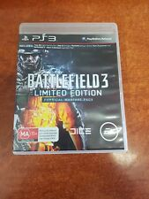 Battlefield 3 Limited Edition Physical Warfare Playstation 3 PS3 Game (26640)