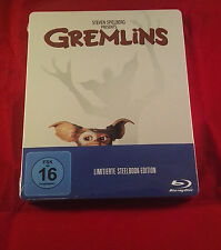 Gremlins 1+2 (Double Feature) Blu-Ray limited Steelbook,Region Free