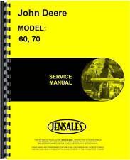 John Deere Lawn & Garden Service Manual (60 & 70 Lawn & Garden)