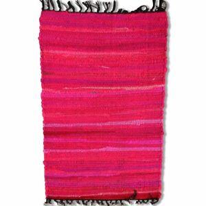 Cotton Chindi Pink Tonal Mat 50 x 80 cm