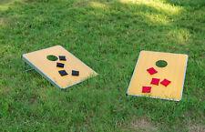 Cornhole Set Toss Game Bean Bag Board Playing Game Carrying Bag