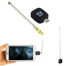 Mini Micro USB DVB-T Digital Mobile TV Tuner Receiver for Android 4.0-5.0 AP