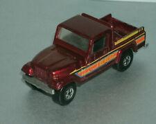 1/64 Scale 1986 Jeep Scrambler CJ-8 Diecast 4x4 Truck - Hot Wheels 2541 Red