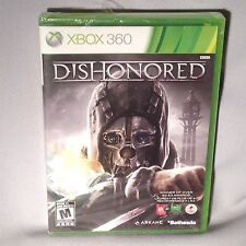 GAME XBOX 360 Dishonored 2012 NEW MINT SEALED