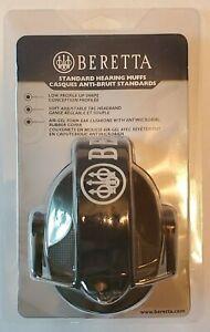 Beretta CF1000020701 Standard Hearing Muffs Earmuffs 25Db Green