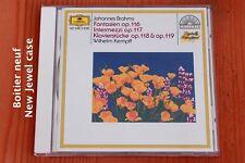 Brahms - Fantaisie Intermezzi Klavierstücke op 118 119 - Kempf - CD DGG