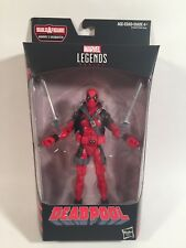 Marvel Legends Deadpool Sasquatch Baf Series Red Deadpool 6� Figure Very Nice