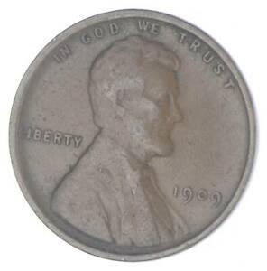 XF+ 1909 Lincoln Wheat Cent - 1st Year Issue - Great Condition *026